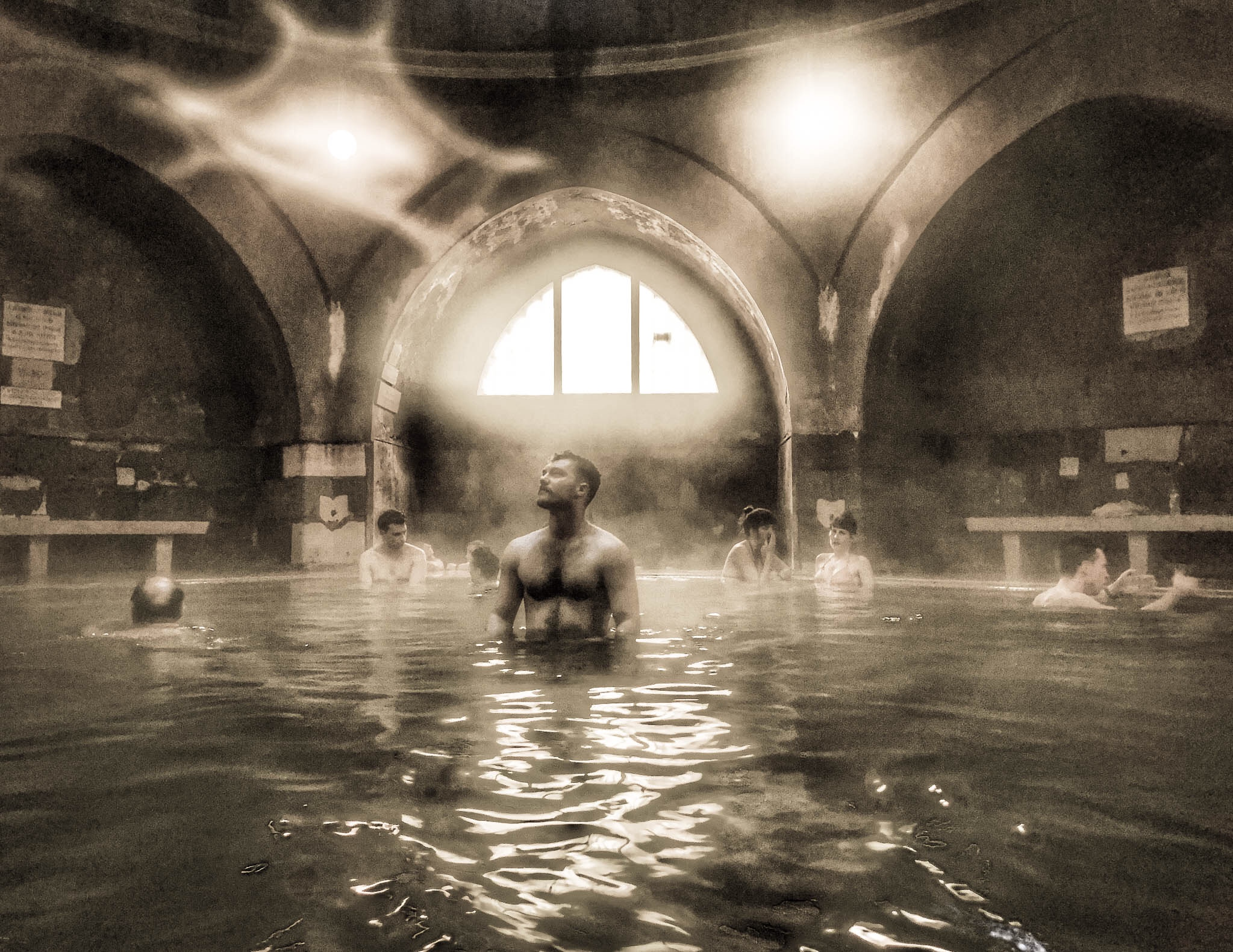 The Bathhouses of Budapest